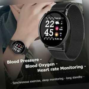 Smartwatch Bluetooth Armbanduhr Android Samsung Huawei Fitness Schrittzähler