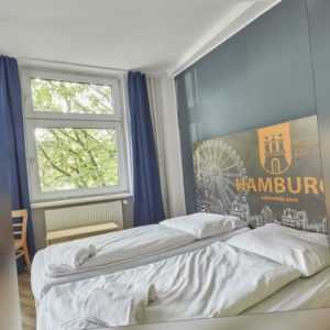 Hamburg Reeperbahn A&O Hotel Gutschein 2 Personen Frühstück ab 1 Nacht