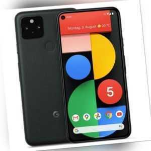 Google Pixel 5 128GB Just Black schwarz Android Smartphone Ohne Simlock Handy
