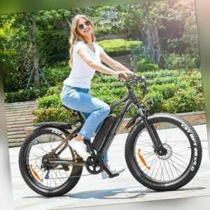 26 Zoll Elektrofahrrad E-Bike 500W Fat Tire Schnee-Elektrofahrrad Mountainbike