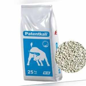 Patentkali sulfatischer Kalium Magnesium Schwefel Dünger 25 kg Gartendünger
