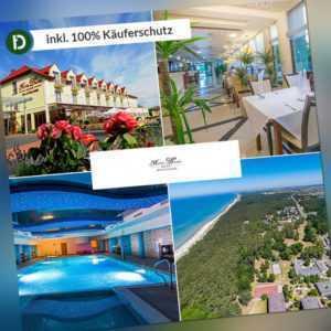 Ostsee 6 Tage Dabki Urlaub Hotel Delfin SPA Reise-Gutschein Halbpension