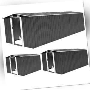 Geräteschuppen Gerätehaus XXL Schuppen Metall Gartenhaus Pultdach Satteldach Top