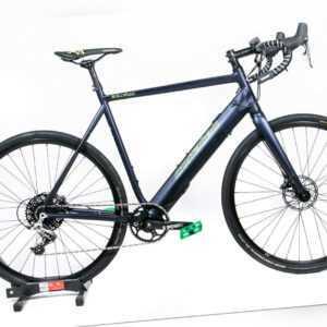 """28"""" Corratec E-Allroad Expert 61cm Unisex E-Rennrad 2019 500Wh Fazua SRAM blau"""