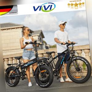 20/26 Zoll E-Bike Elektrofahrrad Mountainbike Citybike 500W Unisex FatTireBike
