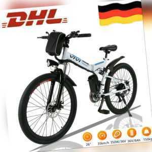 "350W Elektrofahrrad 26""E-bike E Mountain bike klapprad Pedelec E citybike@VIVI X"