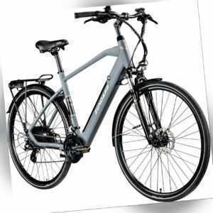 E-Bike 28 Zoll E Trekkingrad Herren Pedelec 700c Zündapp Z810 Fahrrad Trekking g