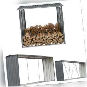 Brennholzlager Stahl Kaminholzunterstand Brennholzregal Holz Regal Lager Metall