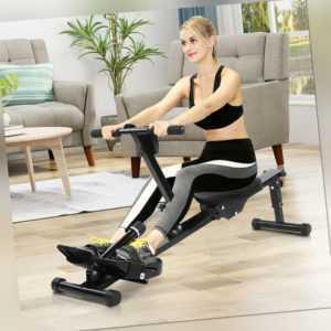 Home Faltbares Aerobic Fitness Rudergerät Rudergerät Heim LCD Display HOME 120kg