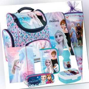 Frozen II Schulranzen Tornister Ranzen Schulrucksack Rucksack Set Schultüte (8)