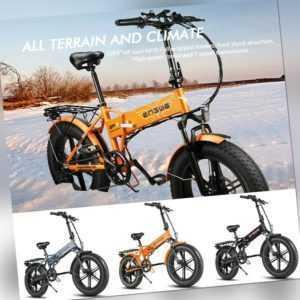 ENGWE EP-2 PRO Elektrofahrrad Mountainbike 20 Zoll E-Bike 750W Fatbike 45KM/H A+