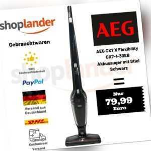 AEG CX7-1-30EB Ergorapido 2in1 Akku-Stielstaubsauger Handstaubsauger SCHWARZ
