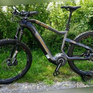 A021-782: Haibike XDuro Alltrail 6.0 Flyon 27,5 Zoll E-Bike Austellungsrad Gr. M