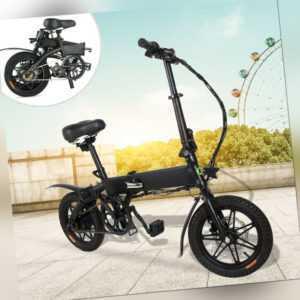 Megawheels Faltbares Elektrofahrrad E-Bike Klapprad Citybike 14 Zoll 250W 36V