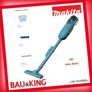 Makita Akku Staubsauger DCL182Z 18V 50L Handstaubsauger + Papierfilter kabellos