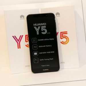 Huawei Y5 2018 Neu Schwarz Black 16 GB LTE 8 MP Single Sim...