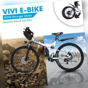 Klapprad 26''EBike E-Mountainbike Elektrofahrrad Pedelec Citybike 350W 36V/#Bike