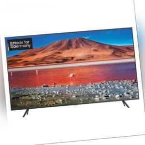 Samsung GU75TU7199UXZG 75 Zoll 4K-LED-TV, Fernseher, Smart TV, 4K TV
