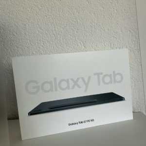 "Samsung Galaxy Tab S7 FE Wi-Fi+5G 64GB 12,4"" - Mystic Black, Versiegelt, Händler"