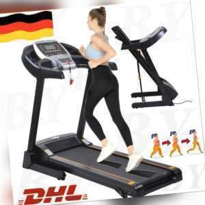 Laufband Heimtrainer Elektrisch LCD Display Fitness jogging Pad 1-14km/h.Unisex.