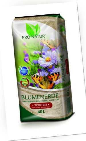 Pro Natur Blumenerde Torffrei 40l