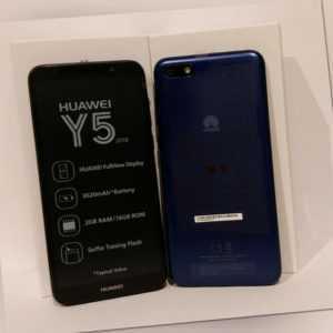 Huawei Y5 2018 Neu Blau 16 GB LTE 8 MP Single Sim Smartphone LTE...
