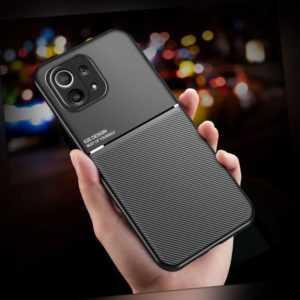Handyhülle für Xiaomi Mi 11 Lite 5G Hülle Handy Case Cover Silikon +Schutzfolie