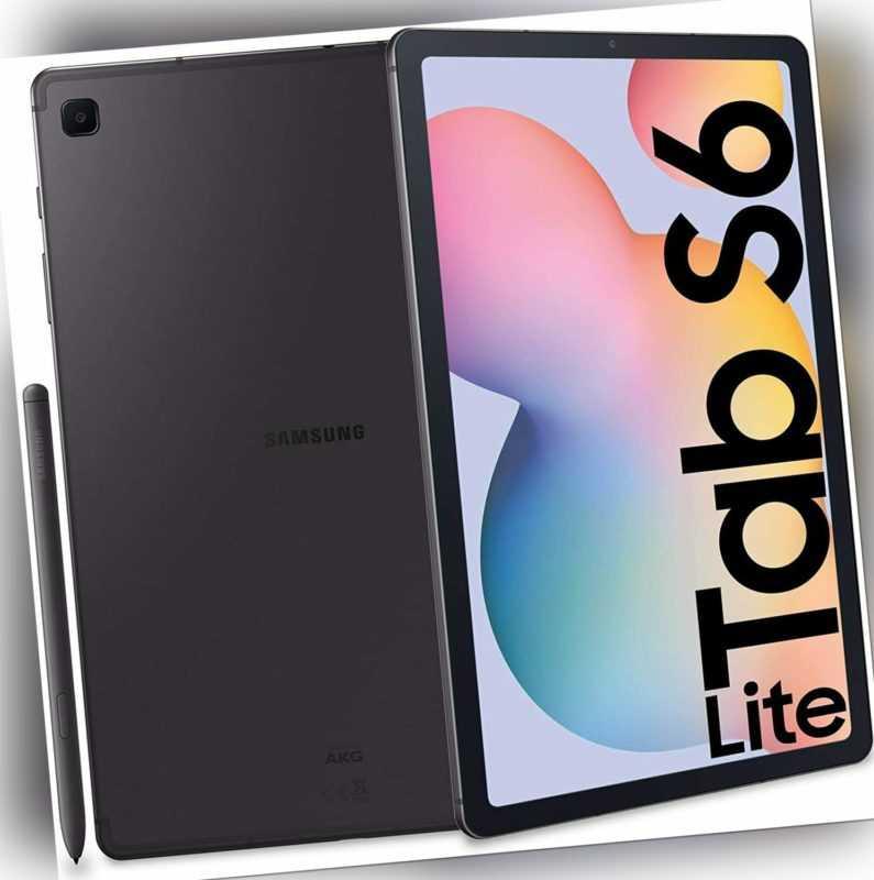Samsung Galaxy Tab S6 Lite (64GB Speicher, 4GB RAM, Android 10) grau SM-P610NZAA
