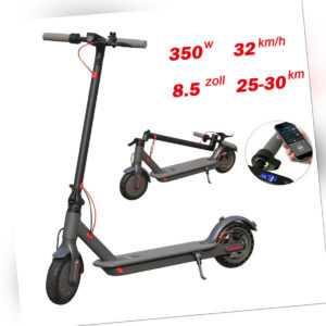 "AOVO PRO 8.5"" E-Scooter 30km Langstrecken 32Km/h Elektro Scooter Cityroller DHL"