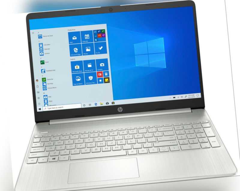 HP 15,6 Zoll Notebook 15s-eq2237ng 512GB SSD 8GB RAM IPS-Display Ryzen 3