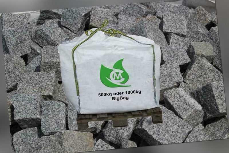 Granit-Mosaik, Einzeiler, Einfassung, Pflaster 5x5x5cm inkl. Lieferung