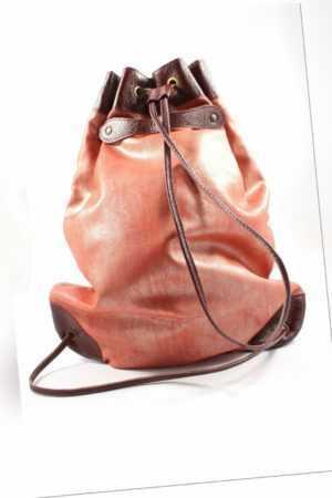Unbekannt Rolltop-Rucksack Damen rot Backpack Rolltop Backpack