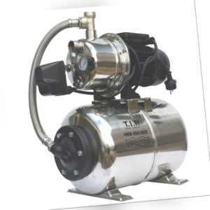 T.I.P. Hauswasserwerk HWW 4500 INOX Gartenpumpe Edelstahl Pumpe Wasser-Pumpe