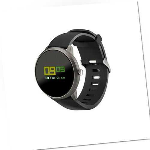 ACME SW101 Smartwatch Android & iOS 0,95 Zoll Display Schwarz NEU