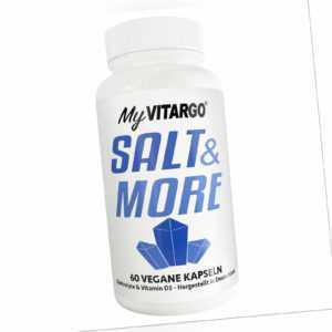 Salt & more (60 Kapseln á 1.250mg ) Elektrolyte,Mineralien (19,99 EUR/100 g)