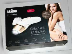 Braun Silk·Expert Pro 5 PL5137 IPL-Haarentfernungsgerät weiß/gold -