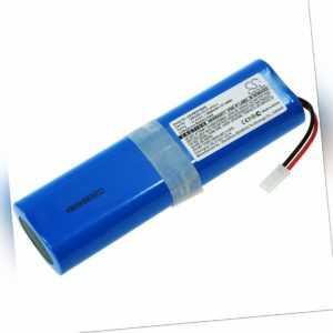 Akku für Saugroboter iLife V5s Pro, V3s Pro, V8s 14,4V 2600mAh/37,4Wh Li-Ion Bla