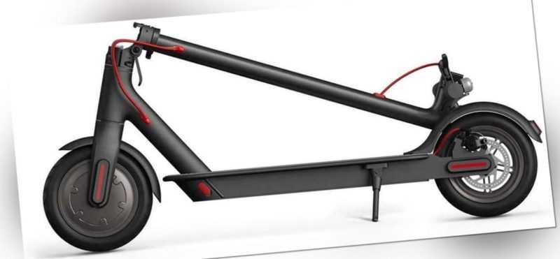 Xiaomi Electric Scooter Roller E-Scooter 30 km Reichweite Elektroroller schwarz