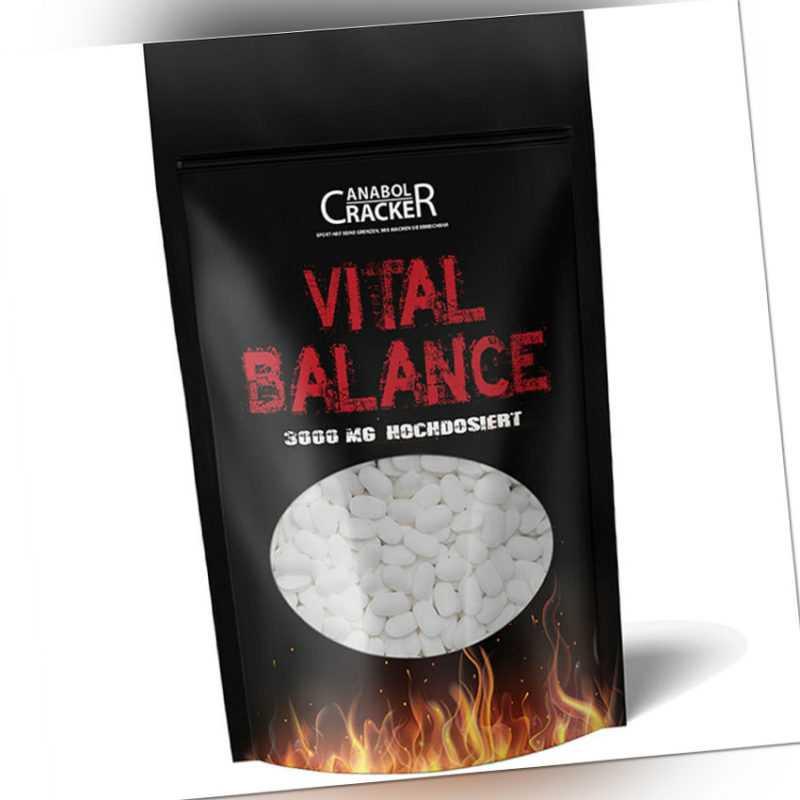 600 Tabletten - Vital Balance, Glucosamin Chondroitin Msm Vitamin C, 3000mg