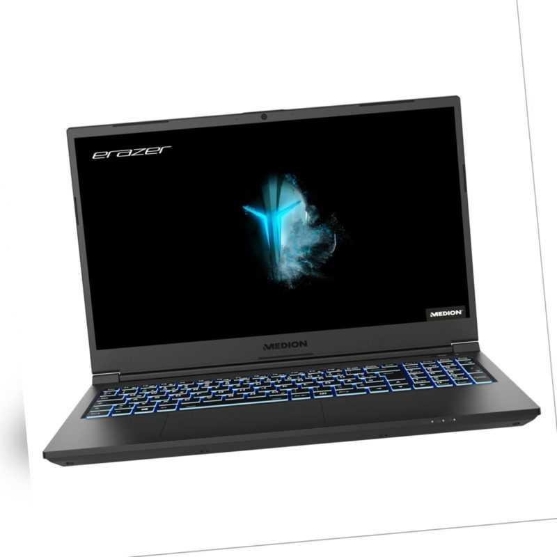 "MEDION ERAZER Crawler E10 Gaming Notebook 39,6cm/15,6"" i7 10. Gen 1TB SSD 16GB"