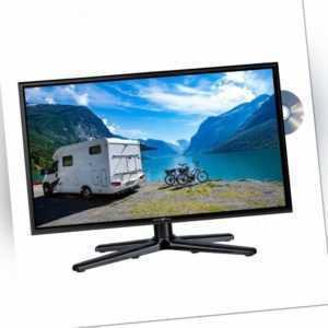 Reflexion LDDW200 mit Triple Tuner DVB-S2/C/T2 HD & DVD-Player für 12/230V WoMo