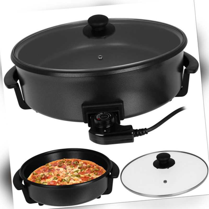 Pizzapfanne Partypfanne elektrische Pizza Party Pfanne Elektropfanne Multipfanne