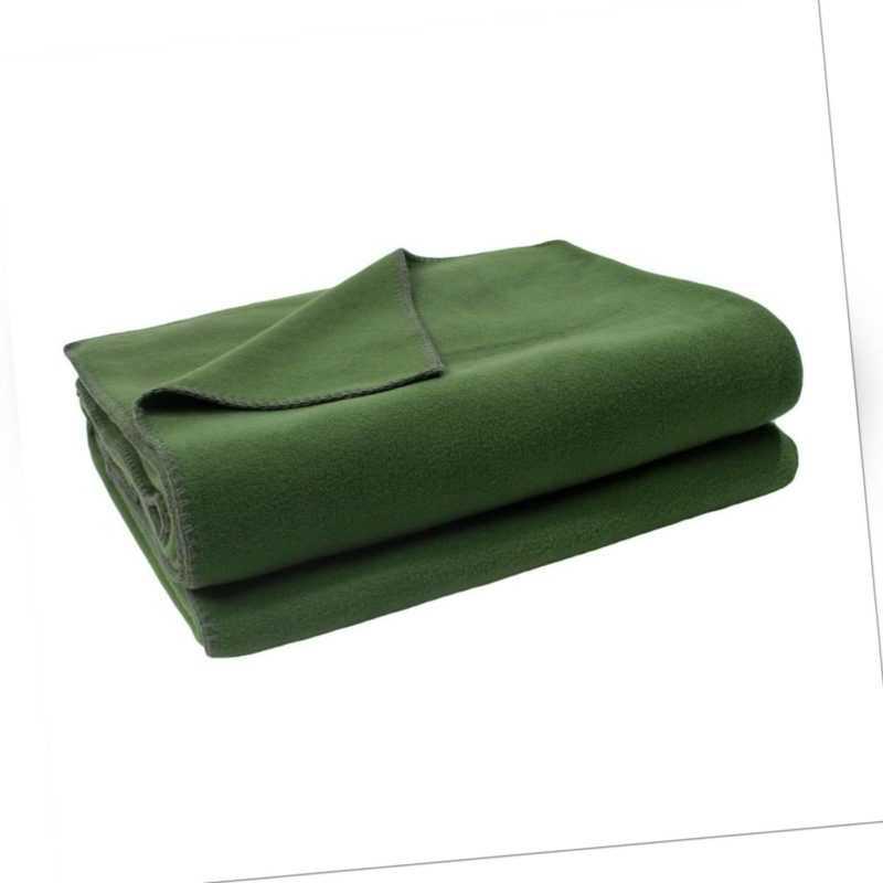 Zoeppritz Soft-Fleece Kuschel Decke 160x200cm col.661 dark jade