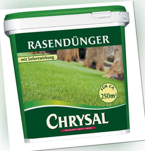 CHRYSAL Rasendünger mit Sofortwirkung, in verschiedenen Gebinden erhältlich