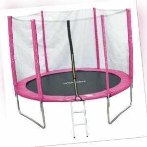 JAWINIO Trampolin Gartentrampolin Trampolin Kinder Komplett-Set