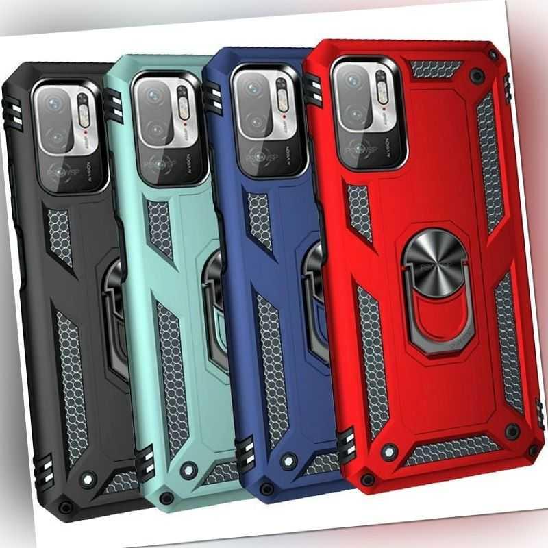 Hülle für Xiaomi Redmi Note 10 5G /10S PRO Handyhülle Case Cover + Schutzfolie
