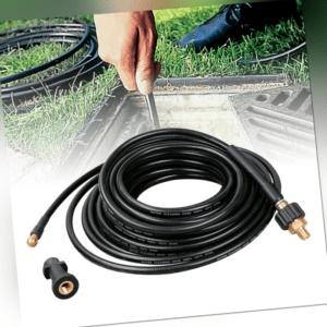 15M Verlängerung Hochdruckschlauch Hochdruckreiniger Kärcher Kränzle mit Adapter