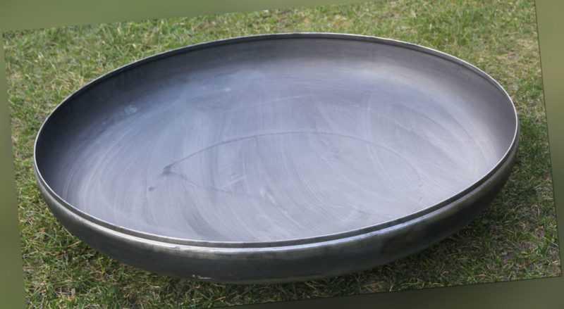 Feuerschale Klöpperboden 500 mm 50 cm Wanddicke 4 mm