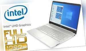 """LAPTOP HP15s-FQ - 8GB RAM - 128GB SSD - 15.6"""" FULL HD MATT - WINDOWS 10 PRO"""
