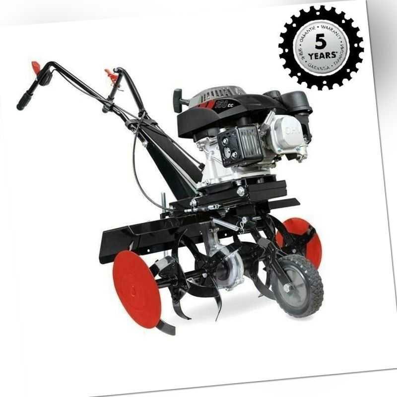 Scheppach Benzin Gartenhacke Motorhacke MTP560 3,7 PS  Bodenfräse Kultivator